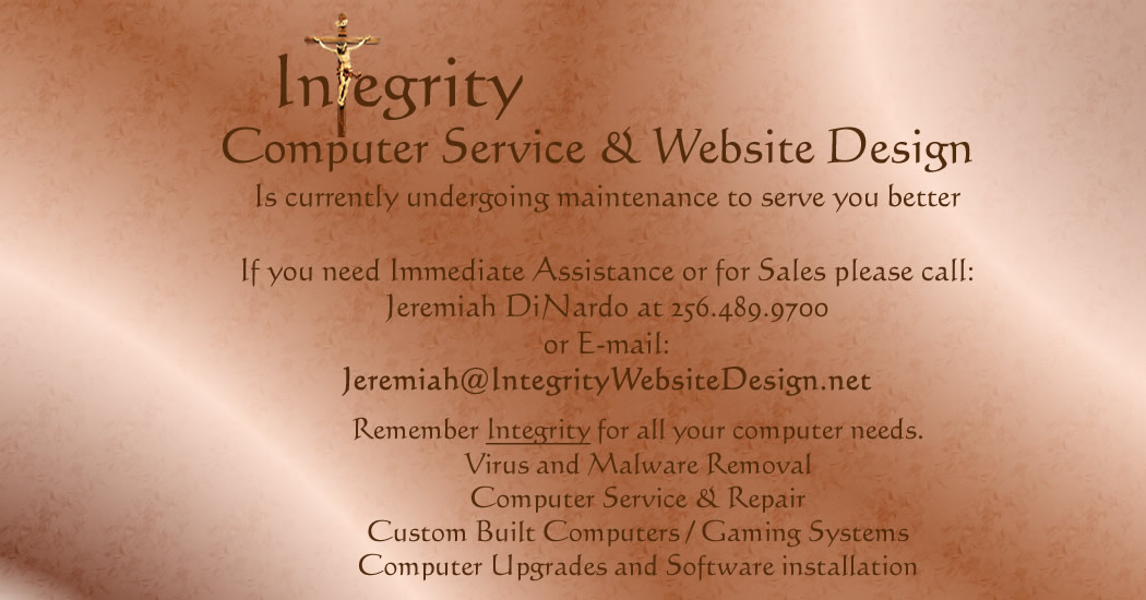 Integrity Computer Services and Website Design